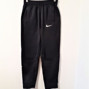 NIKE DRI-FIT BOYS XL BLACK ATHLETIC PANTS